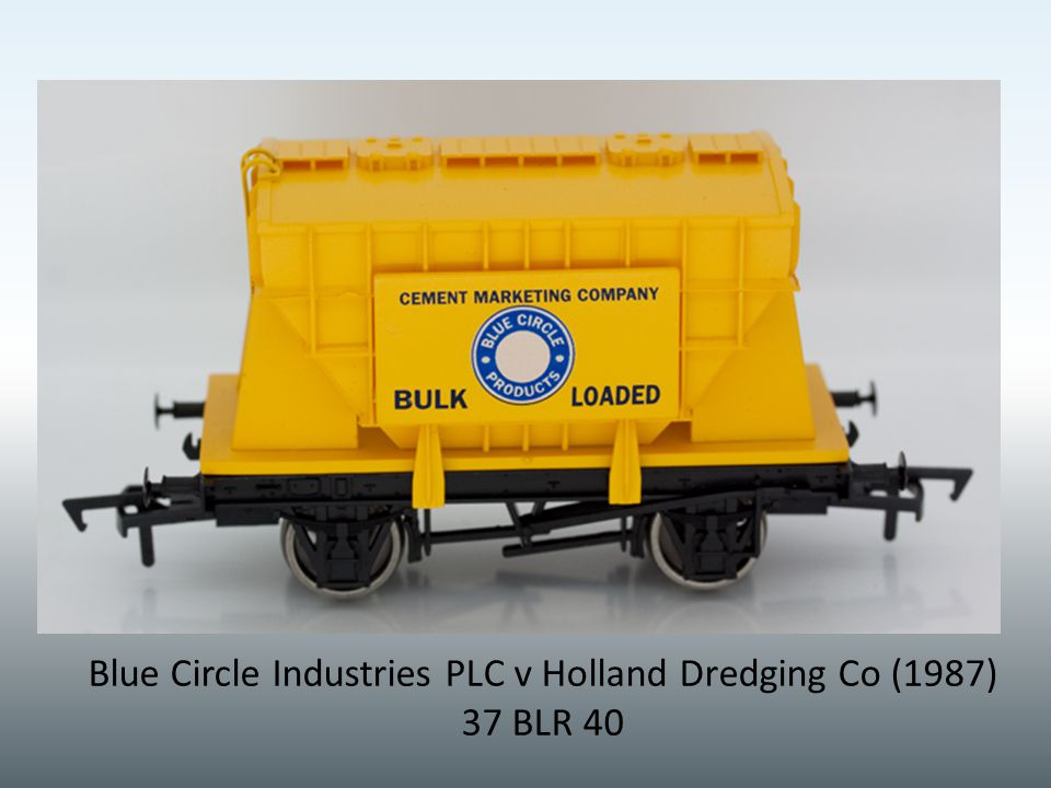 Blue Circle Industries PLC v Holland Dredging Co (1987) 37 BLR 40