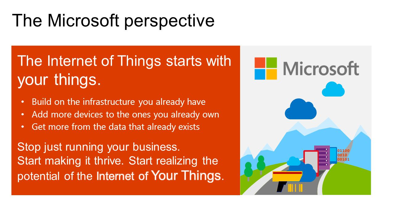 The Microsoft perspective
