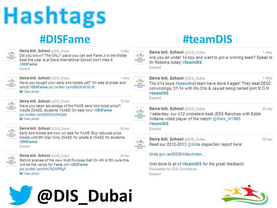 @DIS_Dubai #DISFame#teamDIS