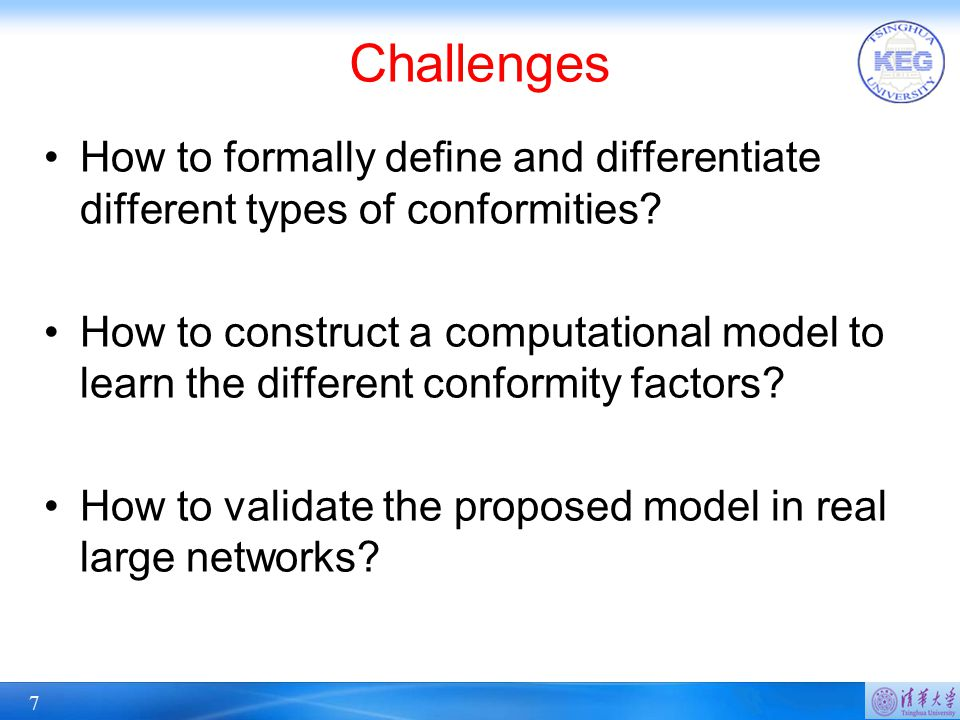 28 Conclusion Study a novel problem of conformity influence analysis in large social networks Formally define three conformity functions to capture the different levels of conformities Propose a Confluence model to model users' actions and conformity Our experiments on four datasets verify the effectiveness and efficiency of the proposed model