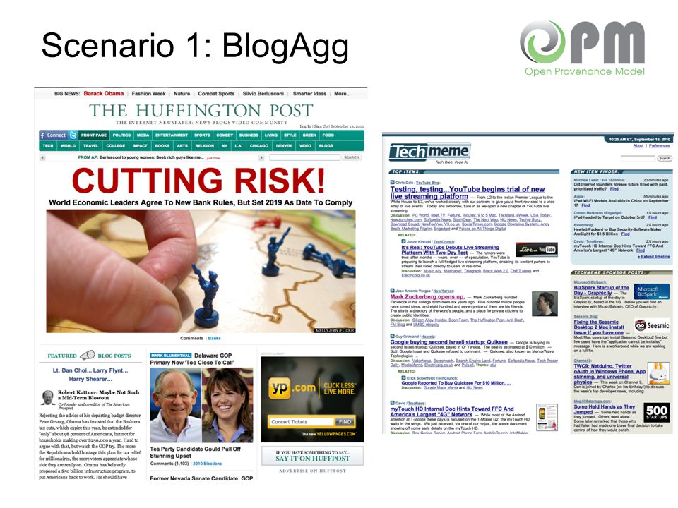 Scenario 1: BlogAgg