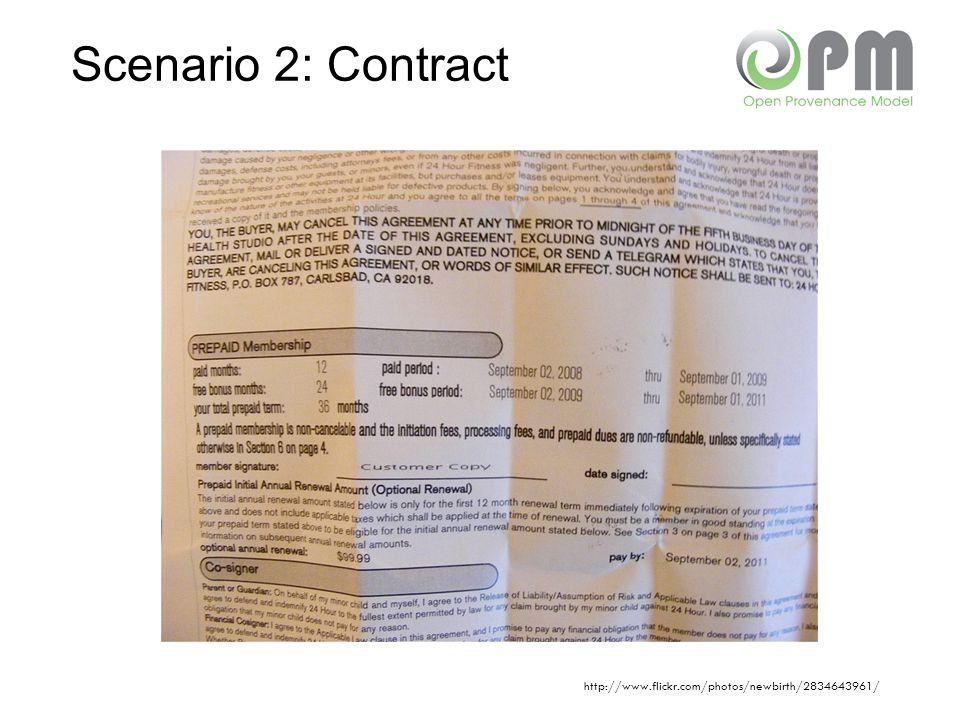 Scenario 2: Contract http://www.flickr.com/photos/newbirth/2834643961/