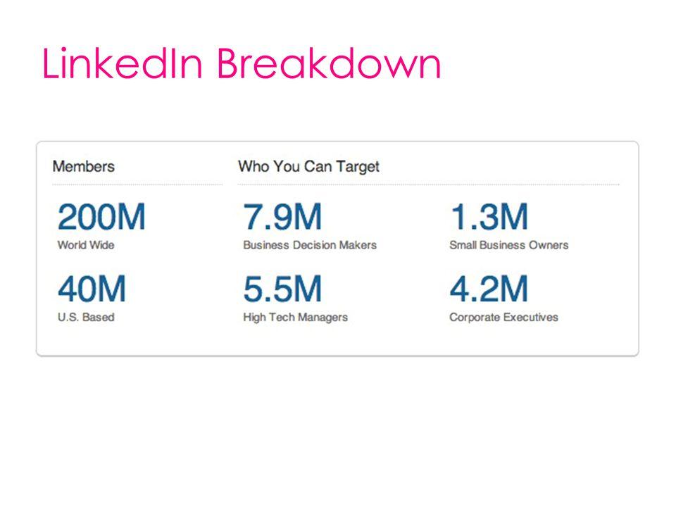 LinkedIn Breakdown