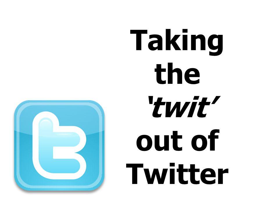 To Tweet or not to Tweet...
