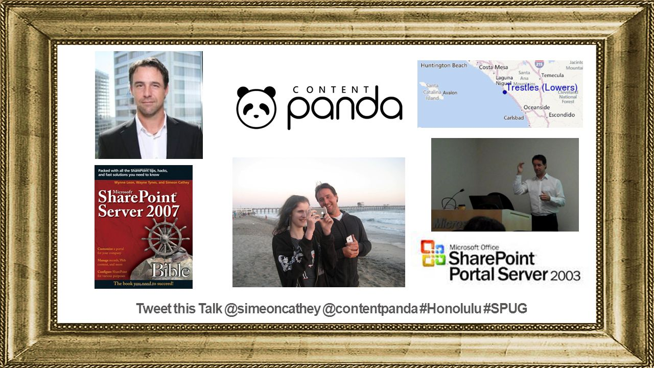 Tweet this Talk @simeoncathey @contentpanda #Honolulu #SPUG