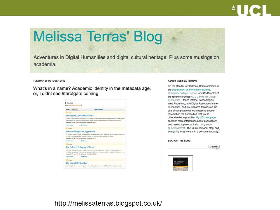 http://melissaterras.blogspot.co.uk/