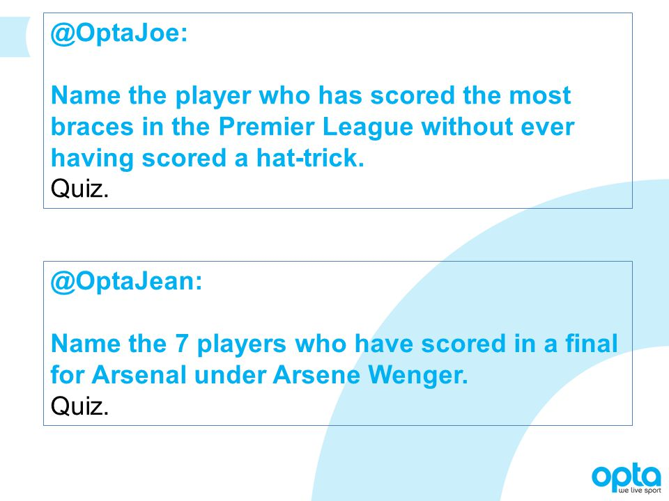 @OptaJean: Name the 7 players who have scored in a final for Arsenal under Arsene Wenger.