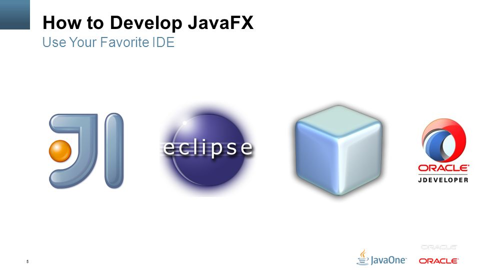 5 How to Develop JavaFX Use Your Favorite IDE