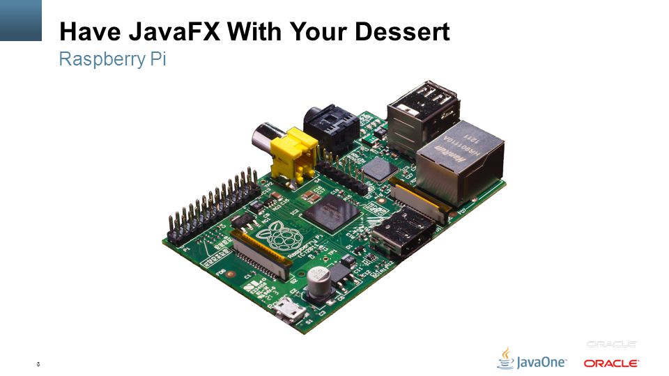 8 Have JavaFX With Your Dessert Raspberry Pi