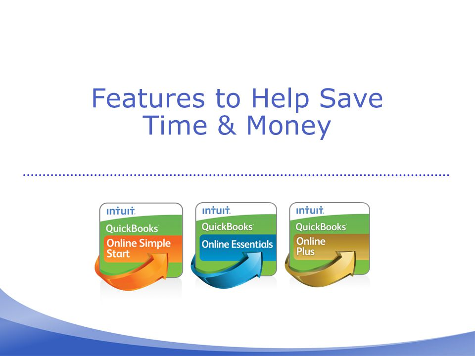 Features to Help Save Time & Money