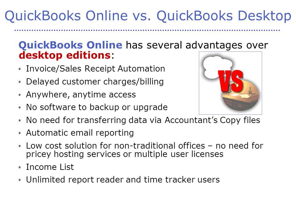 QuickBooks Online vs.