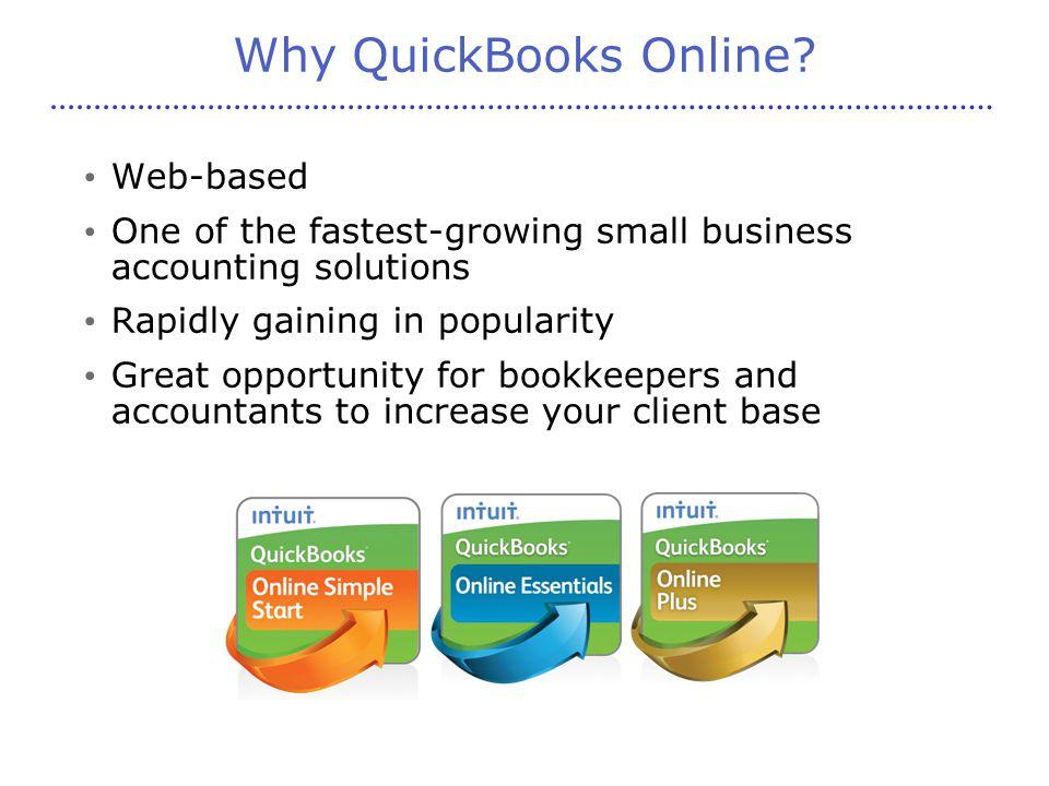 Why QuickBooks Online.