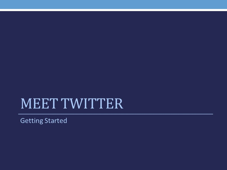 WHAT TO TWEET Content Strategy