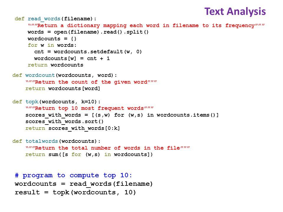 Quantitative Analysis import matplotlib.pyplot as plt def read_measurements(filename): Return a dictionary mapping column names to data.