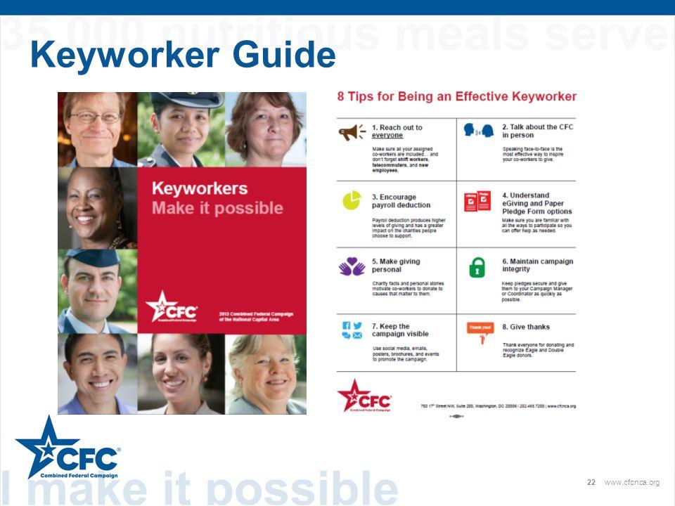 22www.cfcnca.org Keyworker Guide