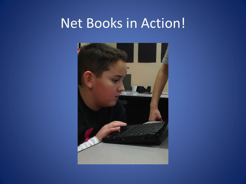 Net Books in Action!