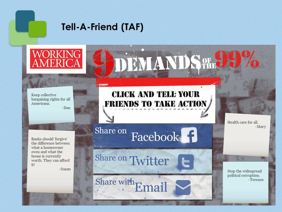 Tell-A-Friend (TAF)