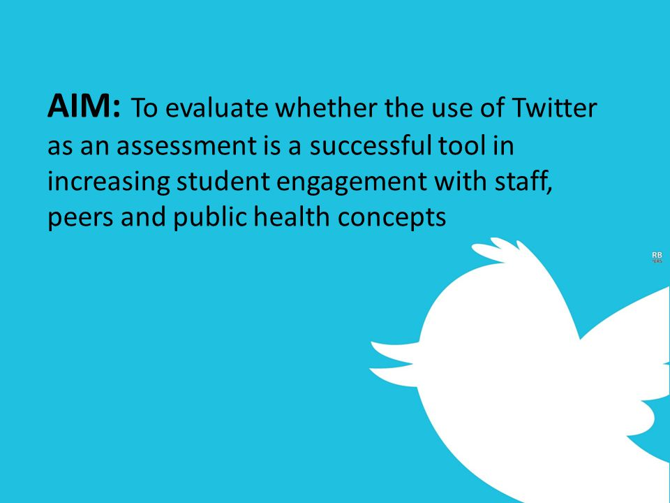 Student Attitudes between previous use of twitter Students who were previous twitter uses had: Greater belief that the tasks would provide greater accessibility to staff when compared to non- users, [MD=-0.36, 95%CI - 0.65- 0.07].