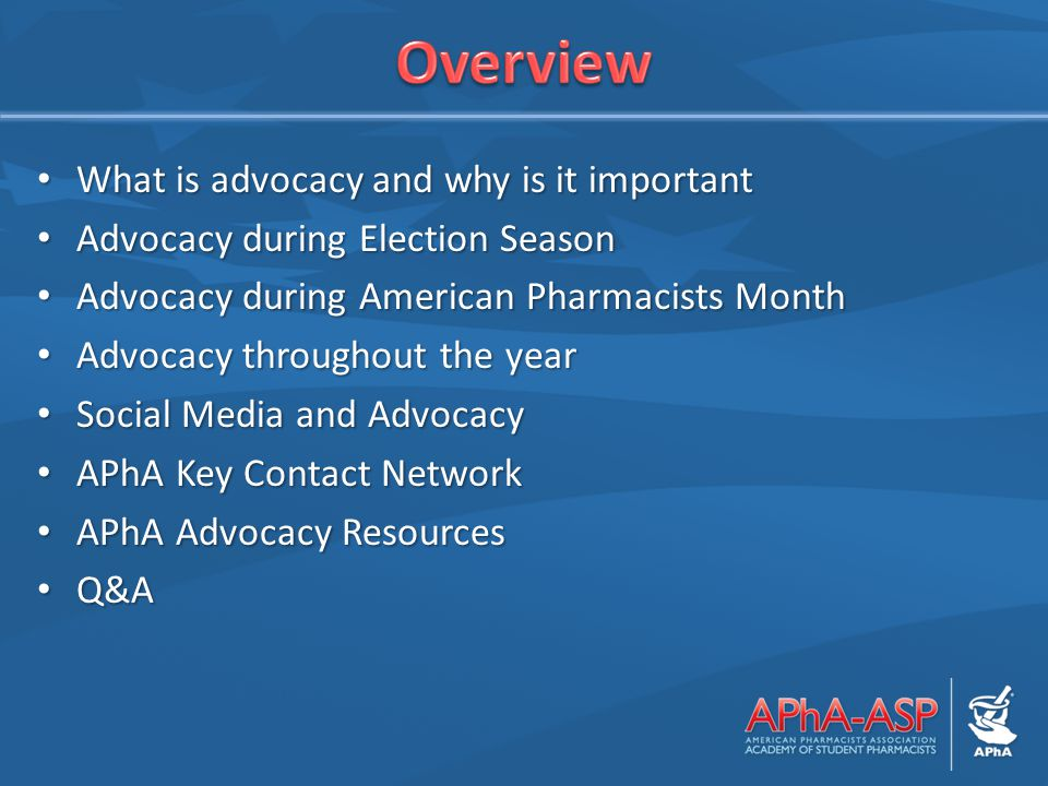 What is advocacy and why is it important What is advocacy and why is it important Advocacy during Election Season Advocacy during Election Season Advo
