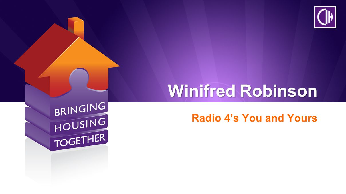 Winifred Robinson Radio 4's You and Yours