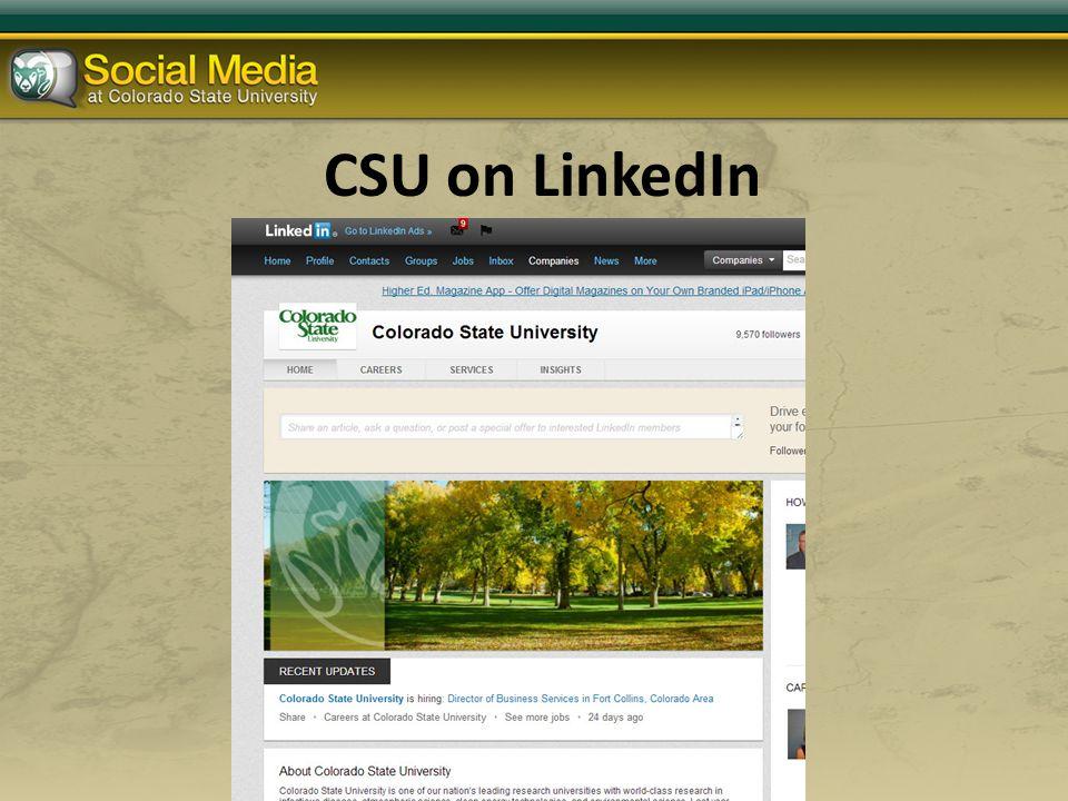 CSU on LinkedIn