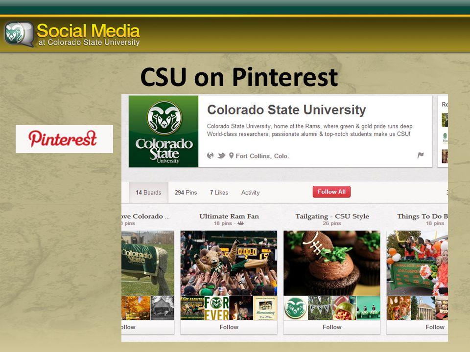 CSU on Pinterest