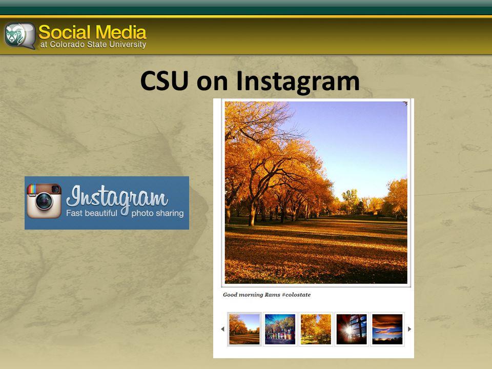 CSU on Instagram