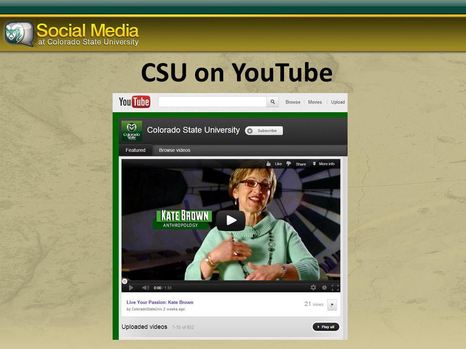 CSU on YouTube