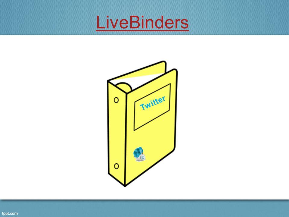LiveBinders Twitter