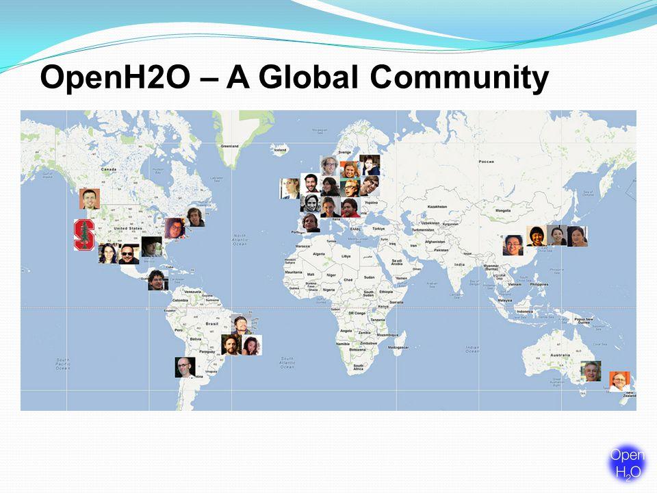 OpenH2O – A Global Community