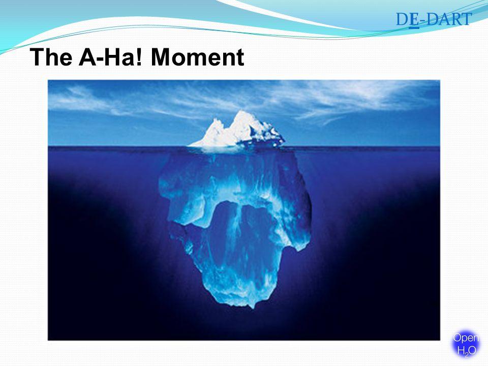 The A-Ha! Moment DE-DART