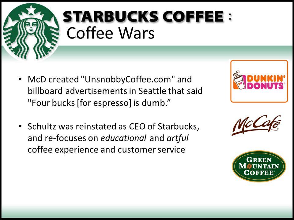 Coffee Wars McD created