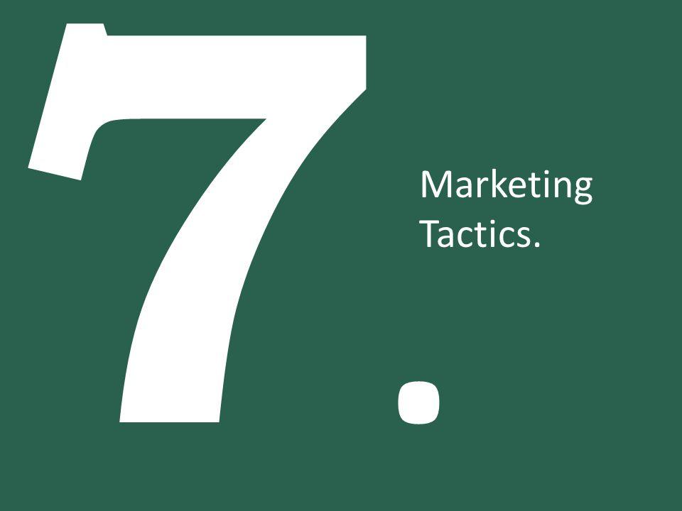 7.7. Marketing Tactics.