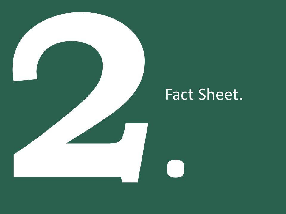 2.2. Fact Sheet.
