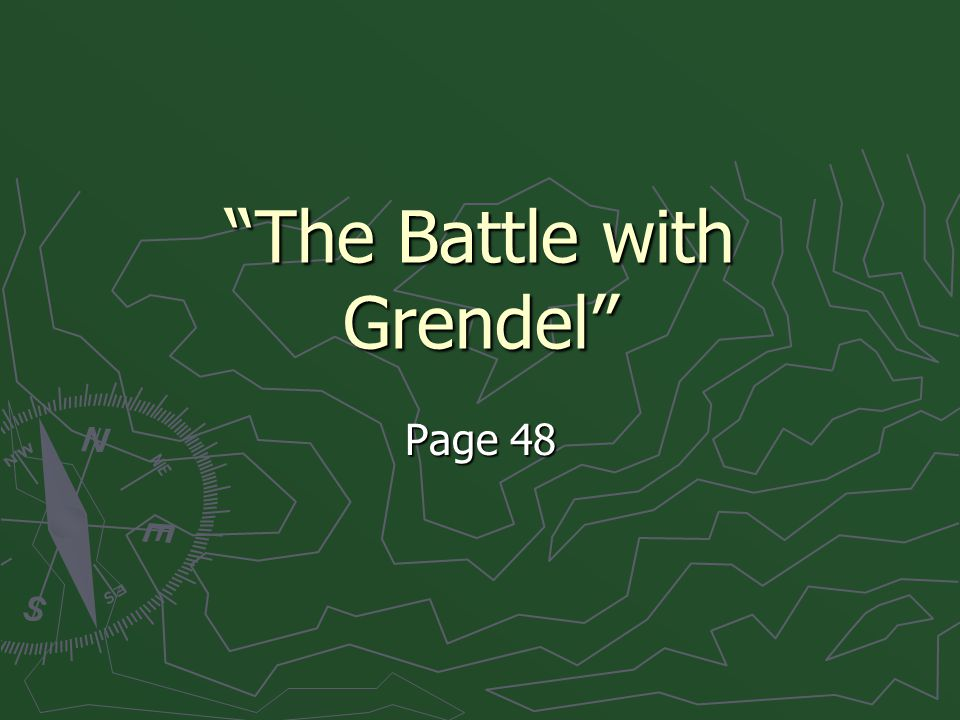 """""""The Battle with Grendel"""" Page 48"""