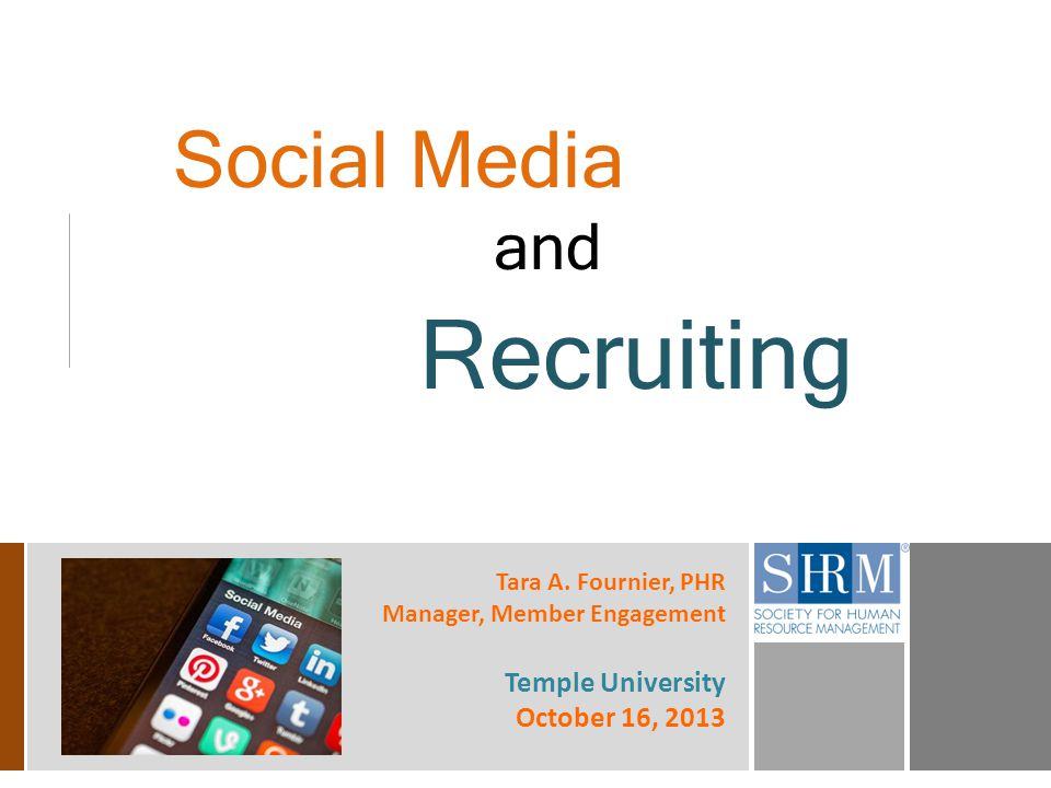 12 Social Media & Recruiting The Numbers 2 out of 3 companies will expand social media recruiting initiatives in 2014 2 out of 3 companies will expand social media recruiting initiatives in 2014.