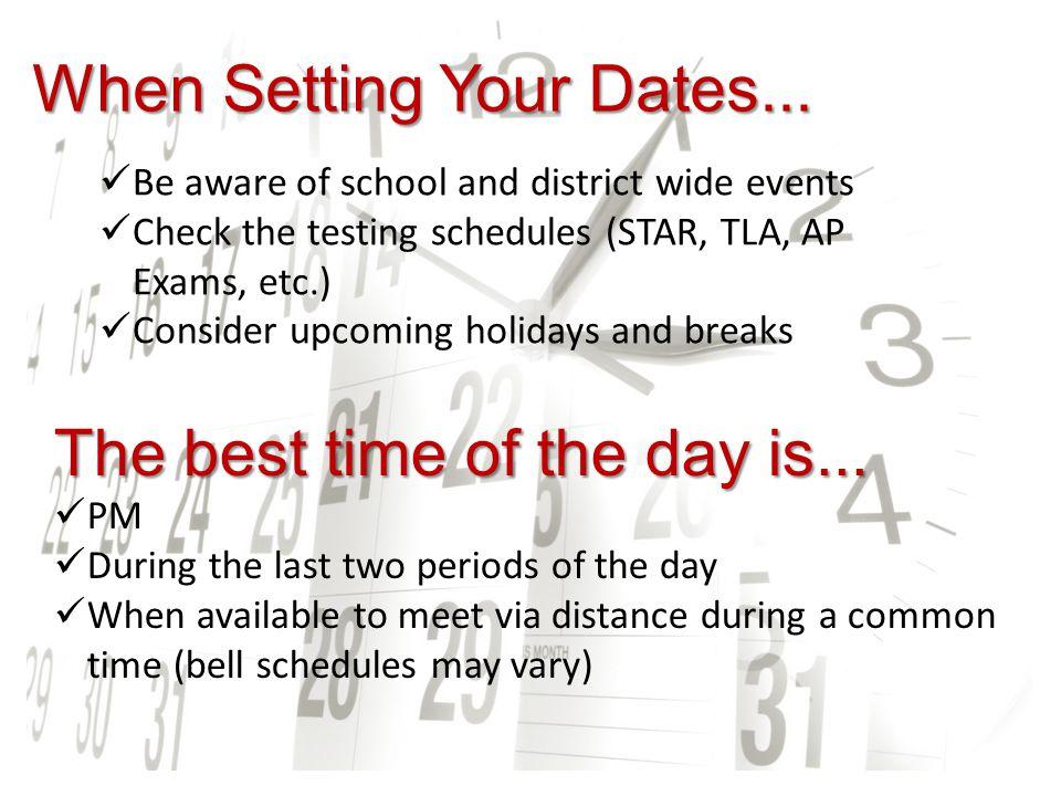 Event Location Consider...