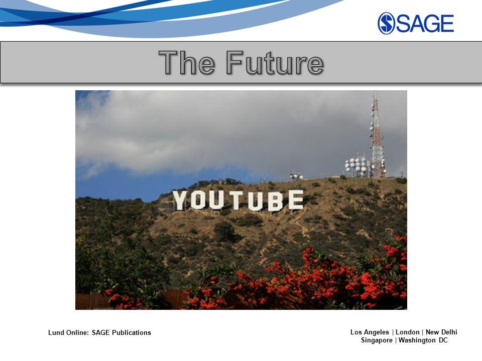 Lund Online: SAGE Publications Los Angeles | London | New Delhi Singapore | Washington DC
