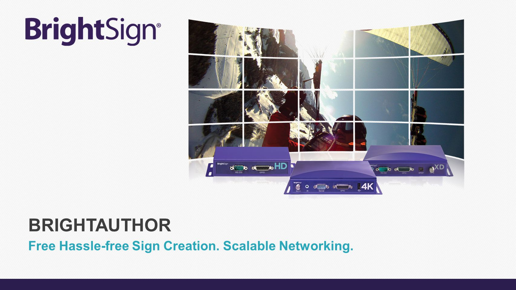 Free Hassle-free Sign Creation. Scalable Networking. BRIGHTAUTHOR