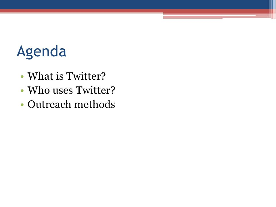 Social Media for Health Advocates Twitter 101 @YI_Care