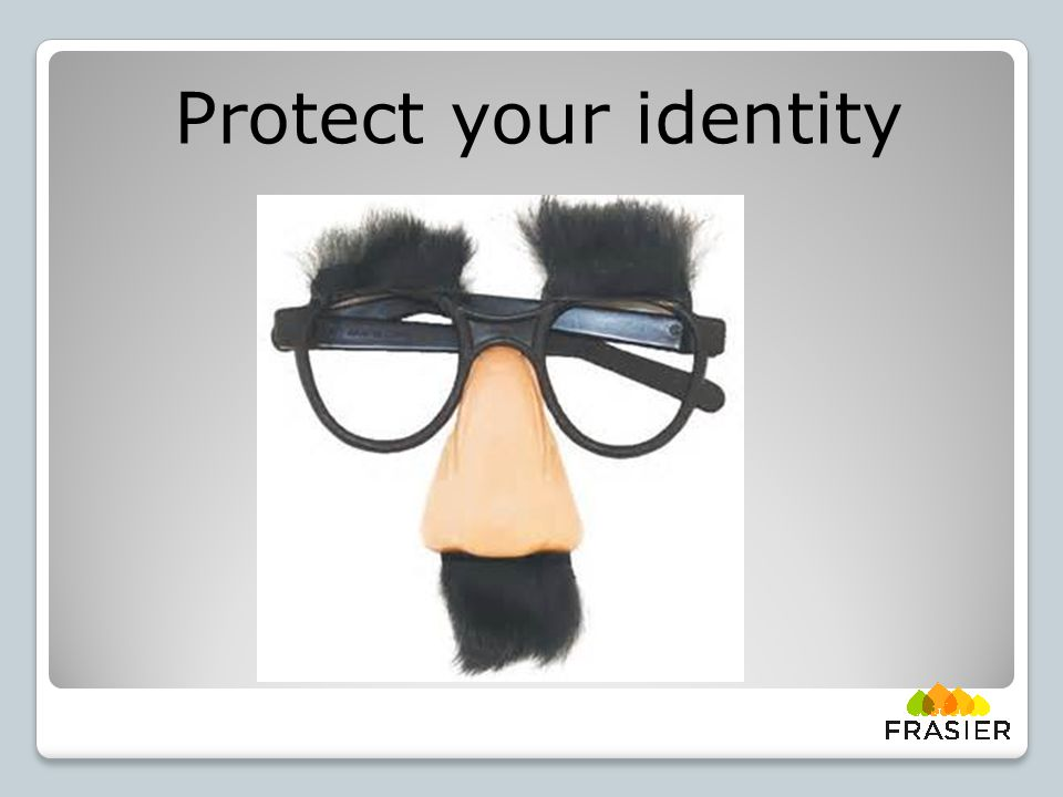 Protect your identity