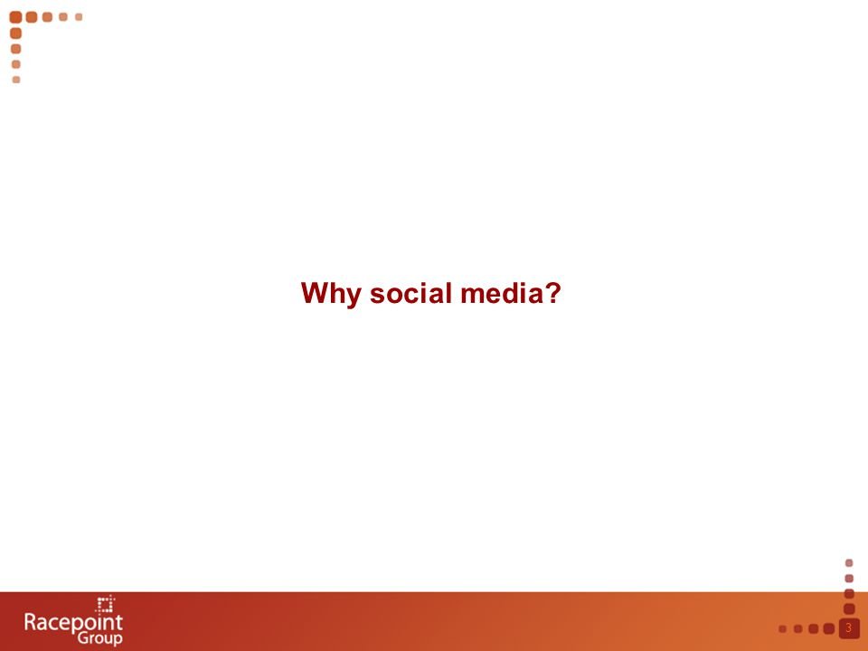 Why social media 3