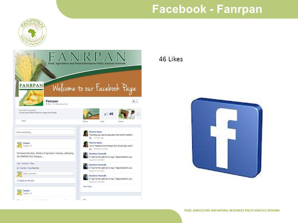 Facebook - Fanrpan 46 Likes