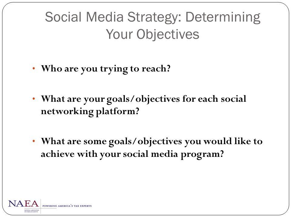 Social Media Strategy PlanListenJoinEngageNetworkManage
