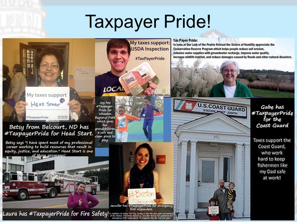 Taxpayer Pride!