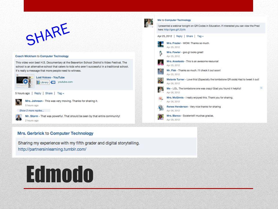 Edmodo SHARE
