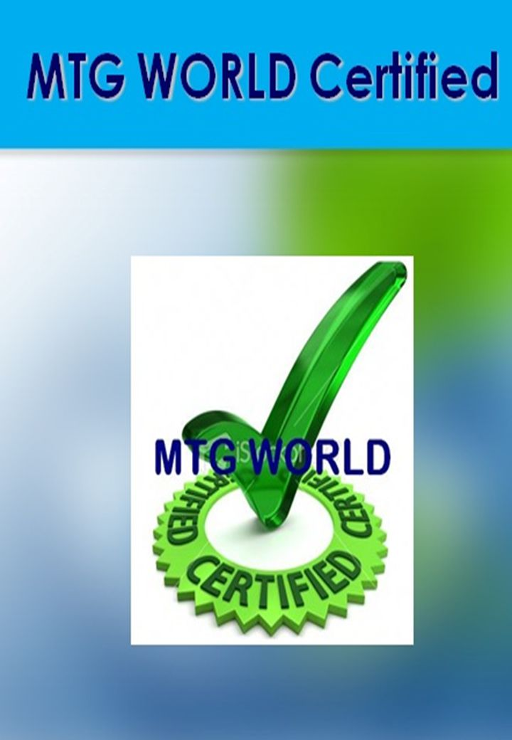 MTG WORLD Certification