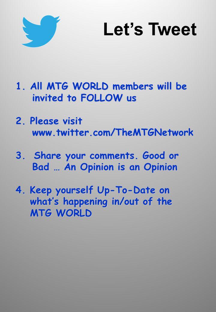 MTG Twitter
