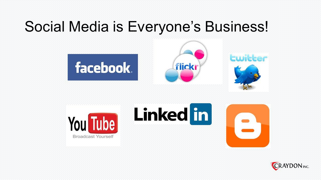 Social Media is Everyone's Business!