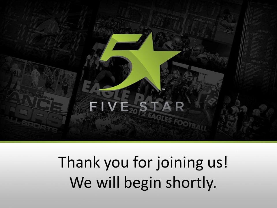 Welcome to 5 Star's Website Wednesday Webinar.